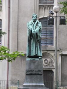 Martin-Luther-Statue in Bielsko-Biala (AF)