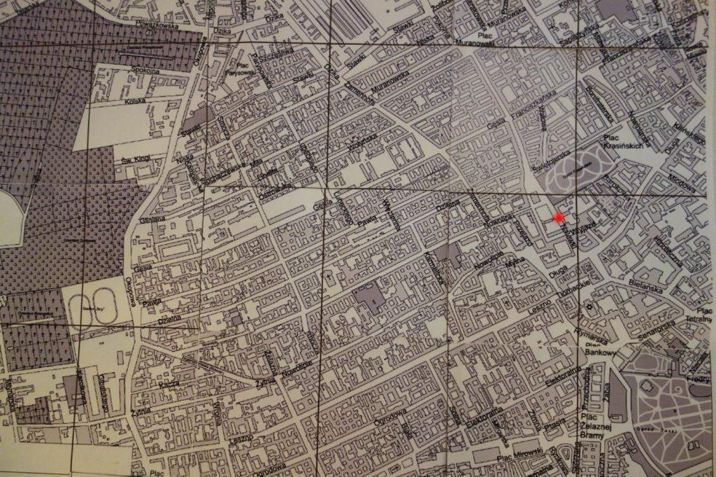 Der Warschauer Stadtteil Muranów, Vorkriegsstand