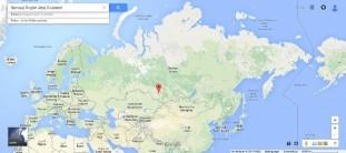 Geographische Lage Barnaul, Foto: google maps