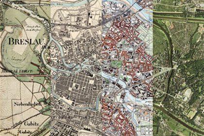 Die Entwicklung Breslaus im Kartenbild (c) Herder-Institut