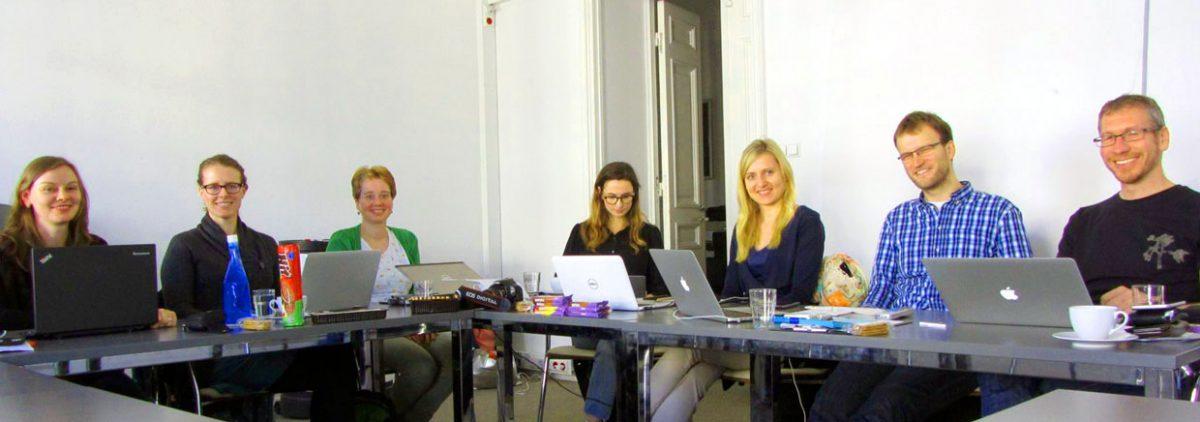 Polen.pl-Redaktionsmitglieder bei der Arbeit