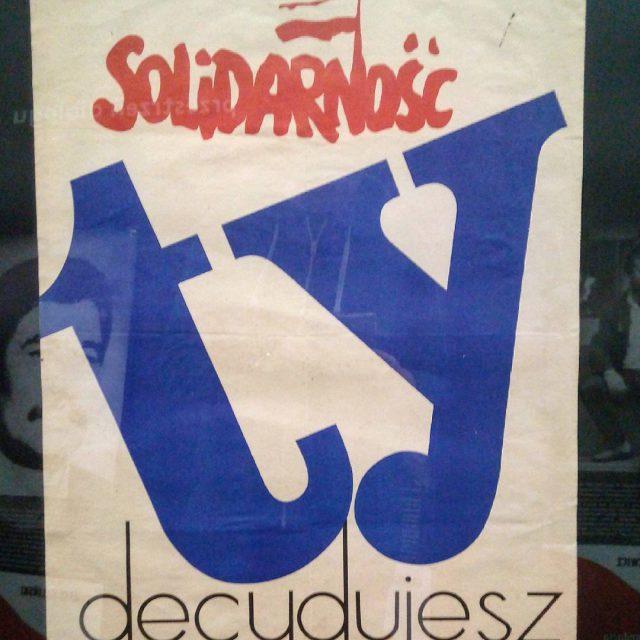 Ein Wahlplakat zu den Regionalwahlen in Stettin 1981 Du entscheidesthellip