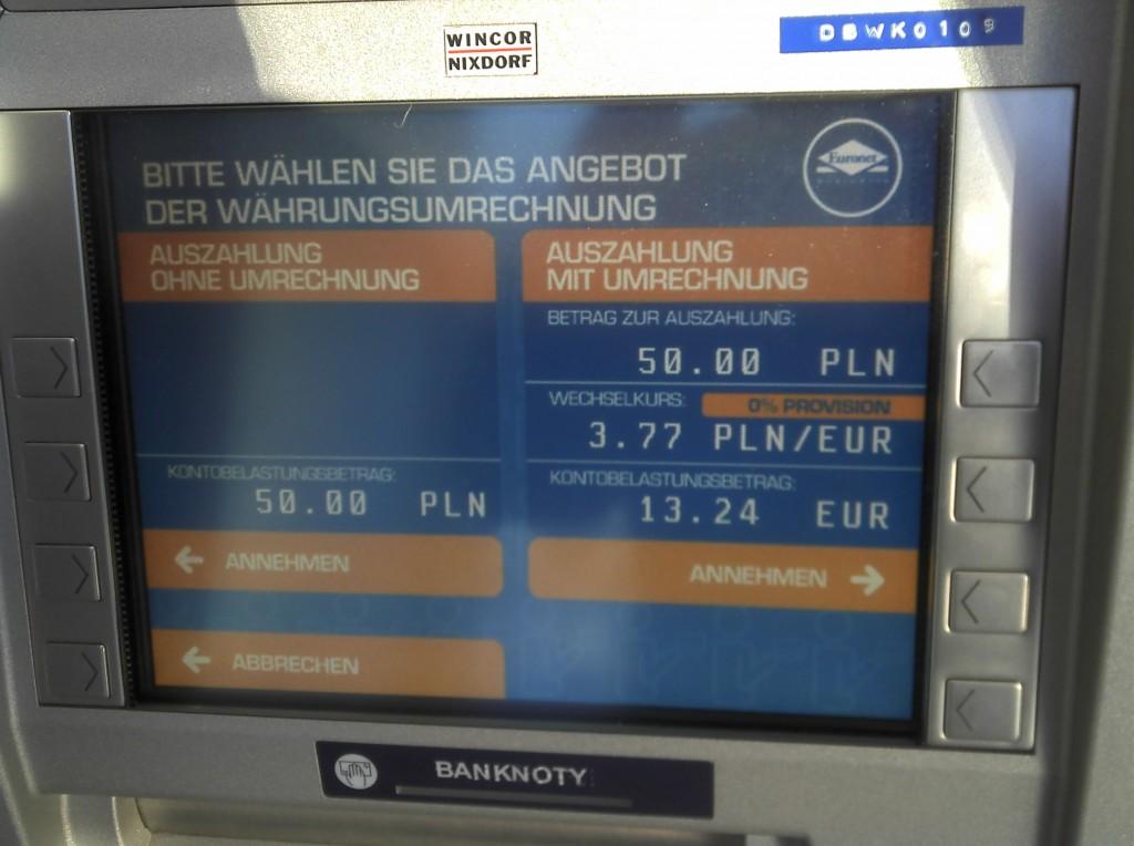 Unterschrift American Express Karte.Gute Karten Mit Kreditkarten In Polen Oder Gilt Nur Bares Ist
