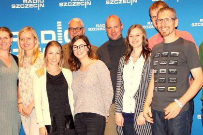 Das Polen.pl-Team in Szczecin (Stettin) 2016