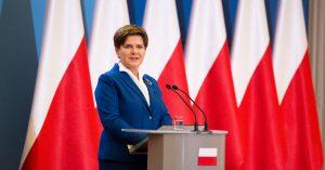 """Premier Szydło verlangt eine Entschuldigung des EP-Präsidenten Schulz """"beim polnischen Volk"""" (Foto: flickr / KPRM / Public Domain)"""