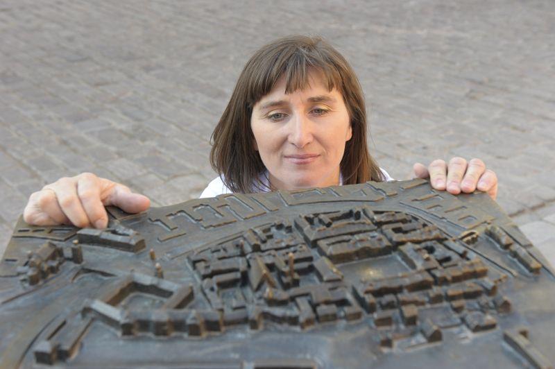 Die Stadtführerin Marzena Świrska-Molenda (Foto: M.S-M)