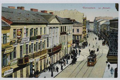 Die Nalewkistrasse nach 1906, Postkarte