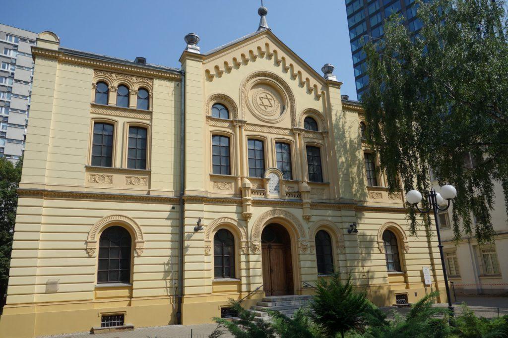 Nożyks Synagoge in Warschau (Foto: Polen.pl)