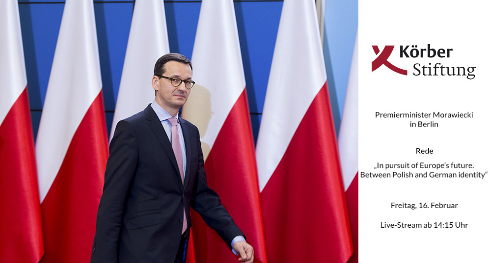Premierminister Mateusz Morawiecki Foto: KPRM / P. Tracz / Public Domain