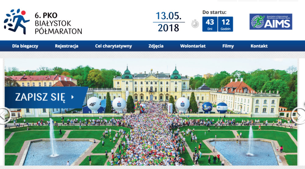 Screenshot Bialystok-Marathon 2018