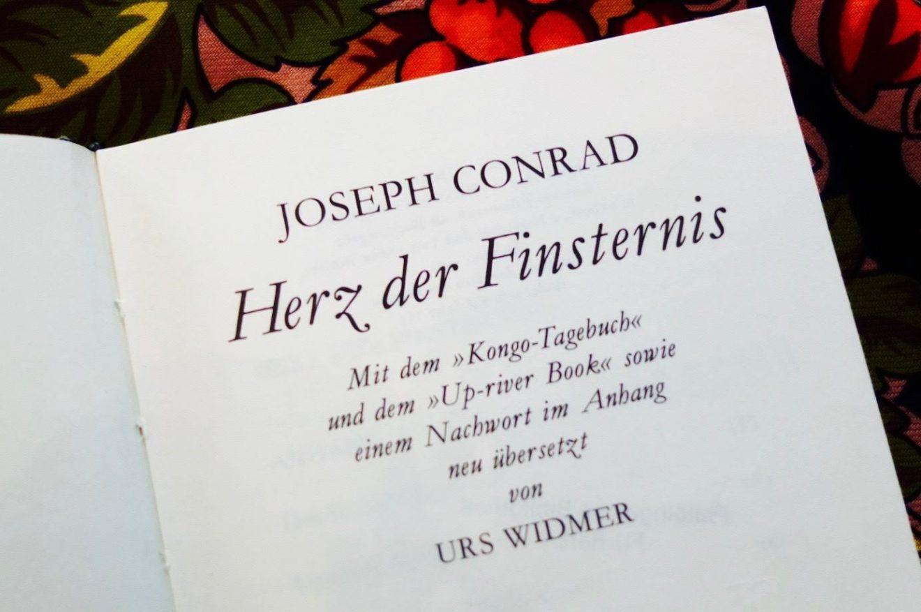 Joseph Conrad - Herz der Finsternis: Lesung & Diskussion