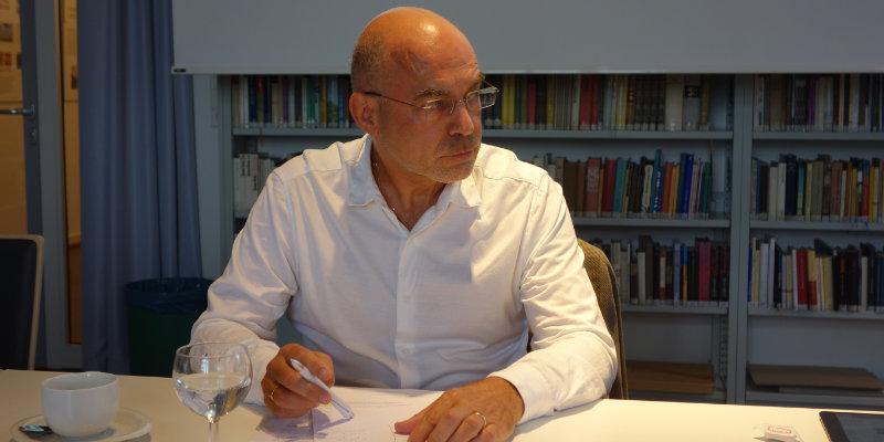 Prof. Dr. Bingen vom DPI im Gespräch