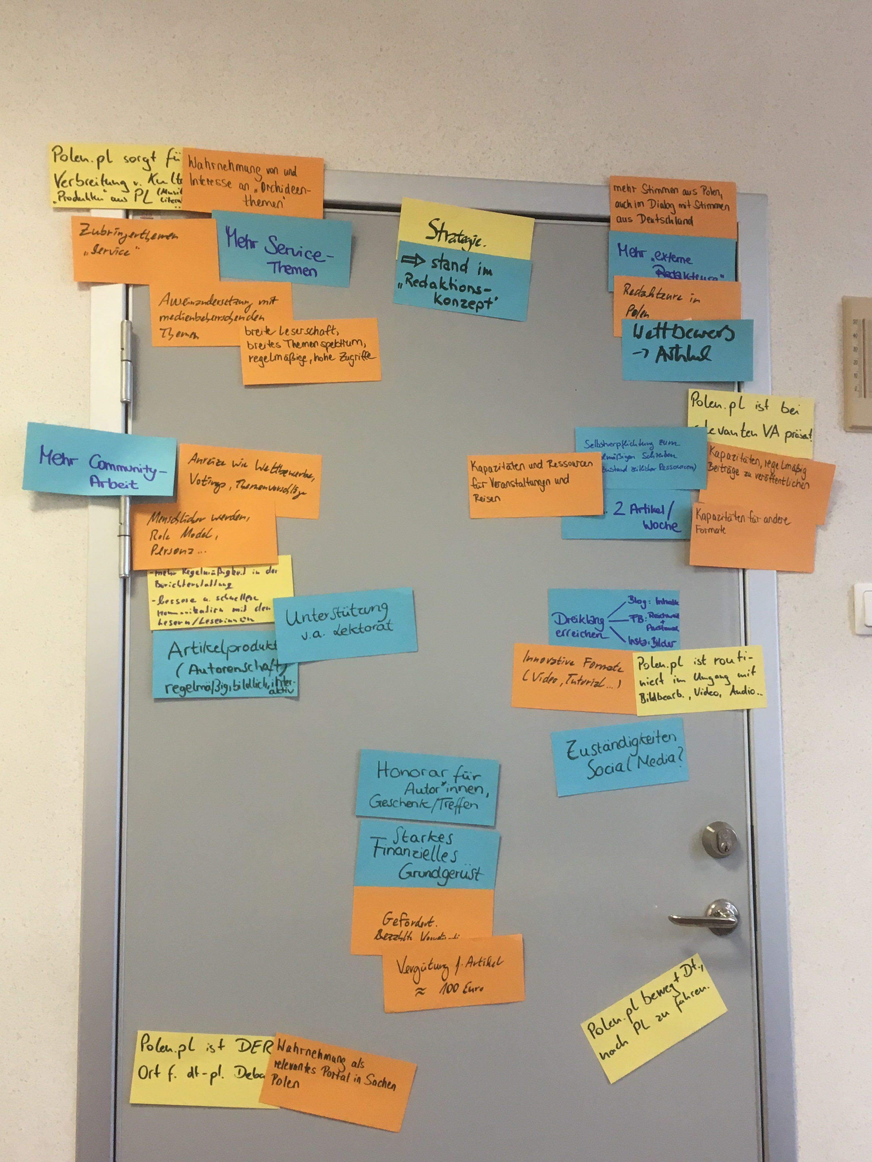 Slubice - Brainstorming