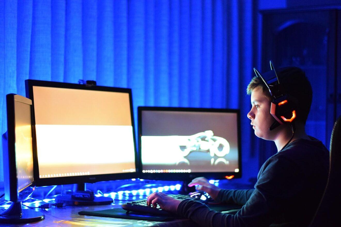 IT-Branche und Gaming-Szene in Polen - Junger Gamer