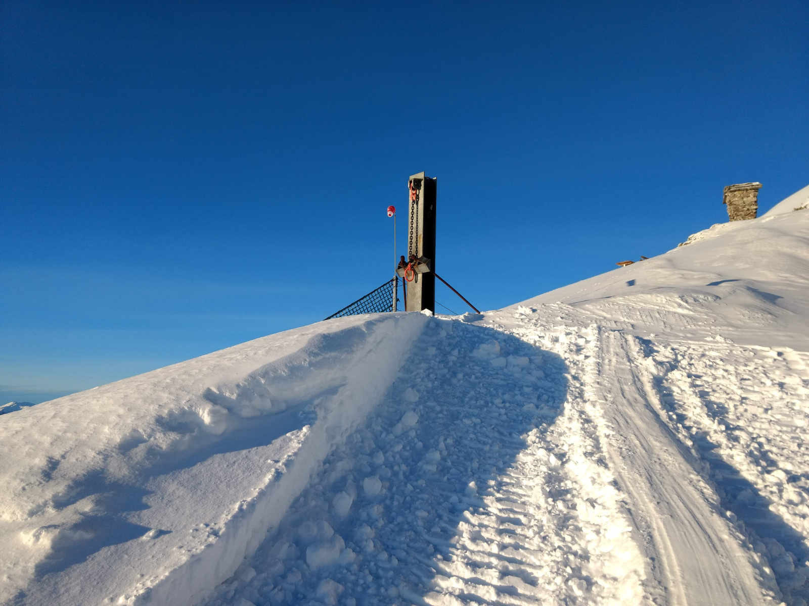 Winterbild mit Schnee. Foto: Jens Hansel