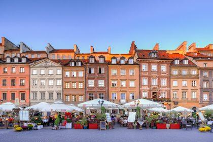 Warschauer Marktplatz. Quelle Rudy und Peter Skitterians, Pixabay