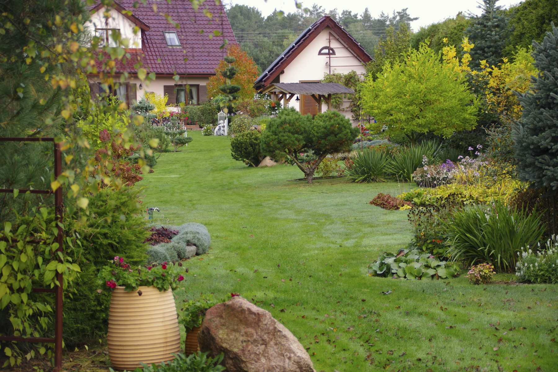 Gartenanlage. Foto: asc
