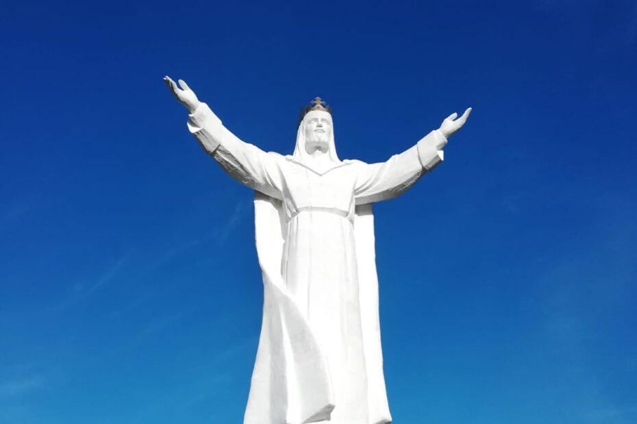 Jesus-Statue in Polen. Foto: Bogumil Palka