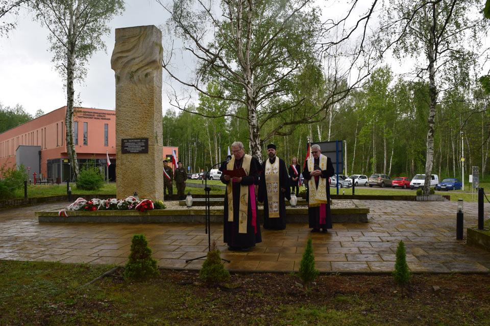 Gedenken anlässlich des 76. Jahrestages der Befreiung des Kriegsgefangenenlagers Stalag VIII A