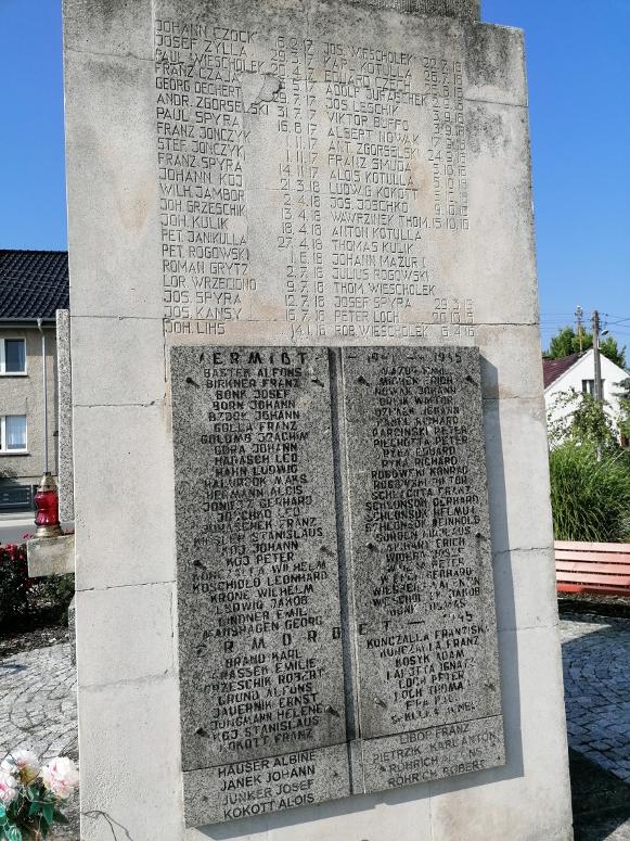 Gedenkstein in Polen