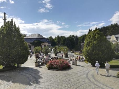 Bad Kudowa (Kudowa-Zdrój) in Niederschlesien